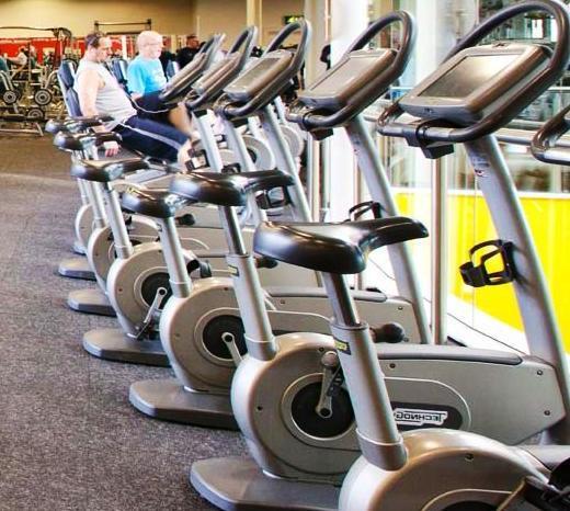 stationary bike machine for cardio workout